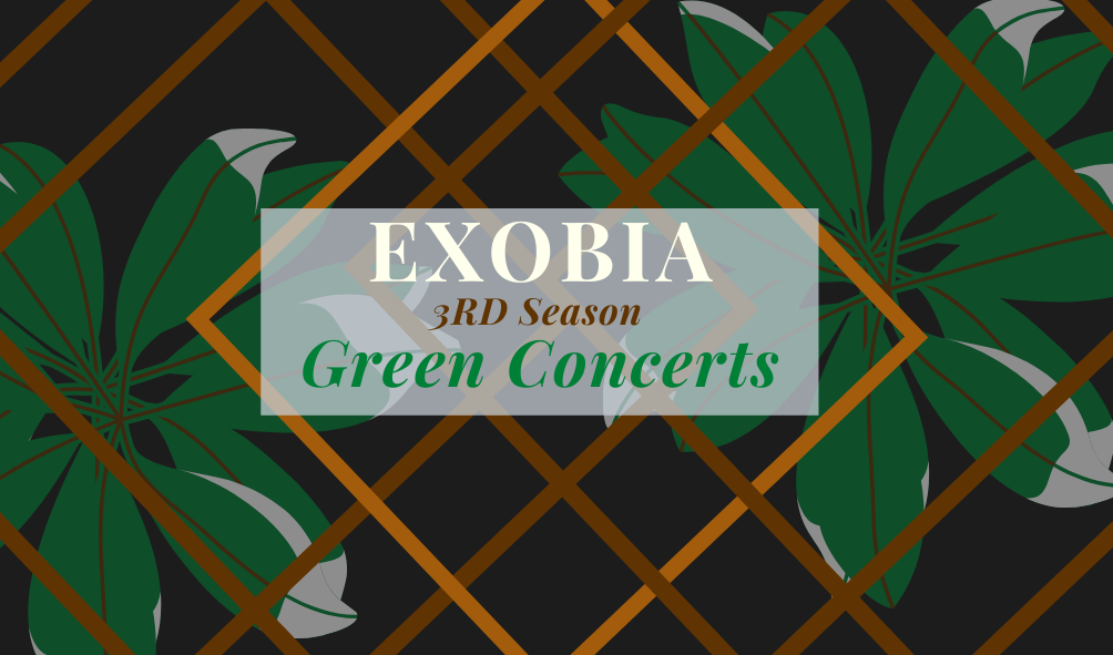 Exobia's Green Concerts featuring indie alternative band3RD Season